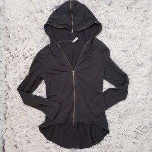 Monoreno Zipper Hooded Jacket
